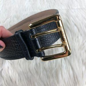MICHAEL Michael Kors Croc Embossed Waist Belt